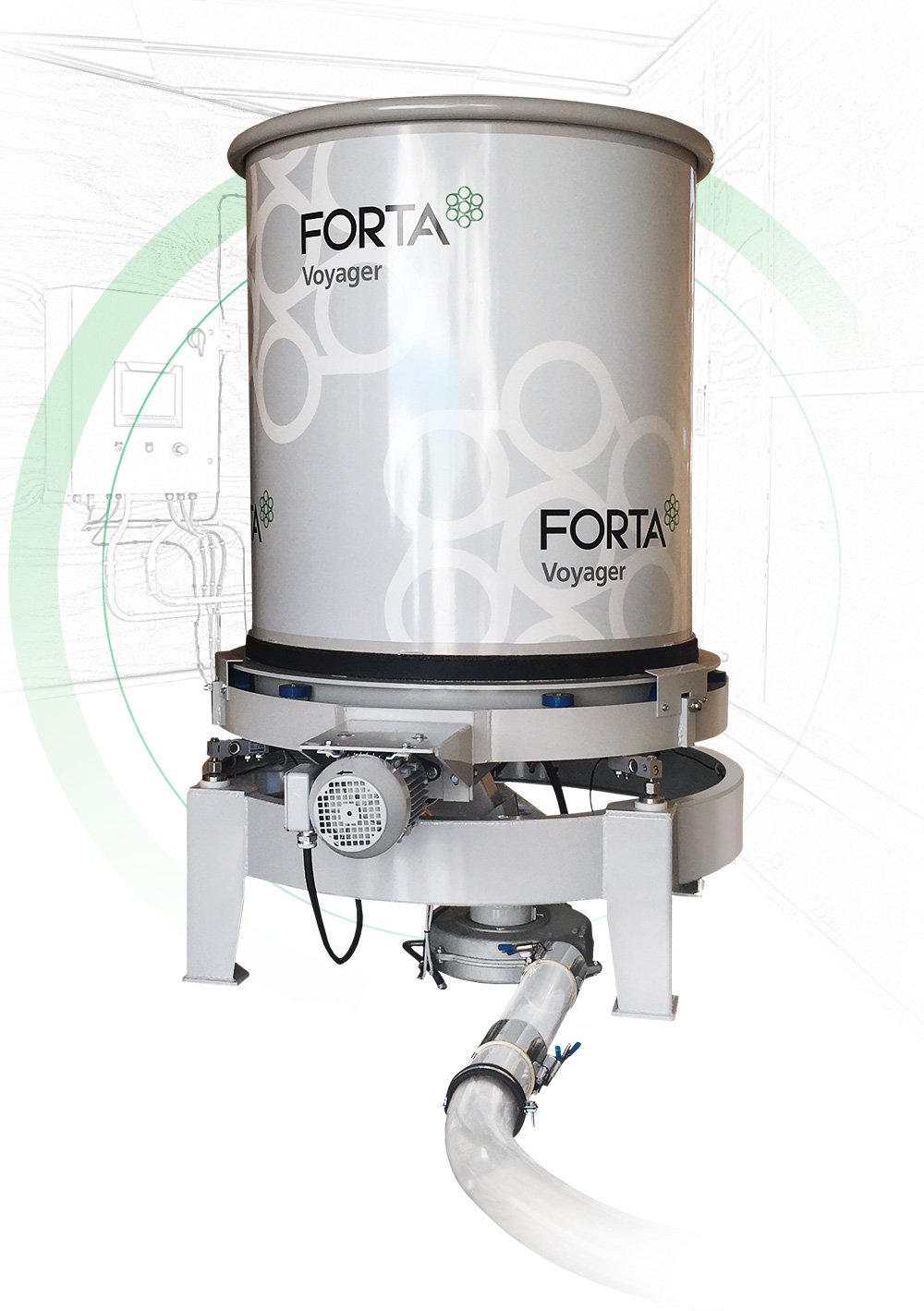 Voyager fiber feeder for concrete